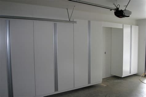 garage closets cabinets contemporary garage and shed