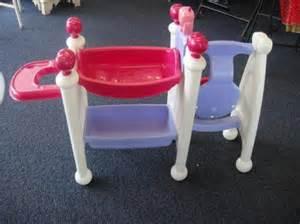 tikes baby doll nursery center swing bath table ebay