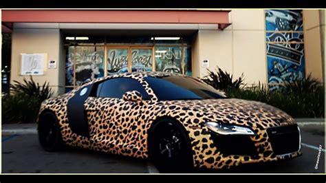 justin biebers leopard print car kiss breakfast