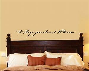 Bedroom wall decal decor shakespeare quote by