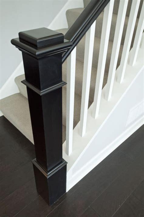 Black Staircase Banister by Best 25 Black Banister Ideas On
