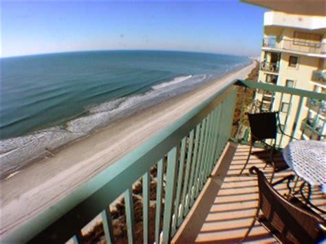 north myrtle beach sc oceanfront condo rentals