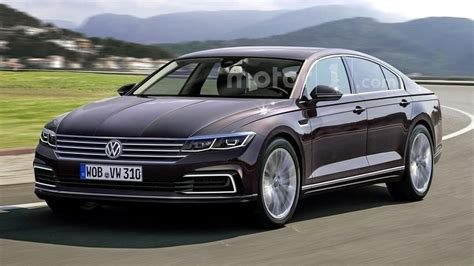 volkswagen phaeton next vw phaeton rendered but won t be out soon