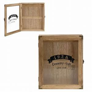 Boite A Cles Murale : boite armoire rangement cl s murale en bois country club ebay ~ Teatrodelosmanantiales.com Idées de Décoration