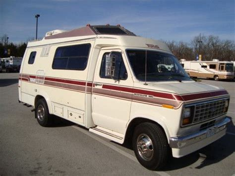 Purchase Used 1989 Ford 350 Econoline Transvan Rv Camper
