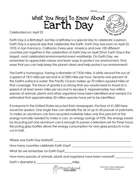what you need to about earth day squarehead teachers