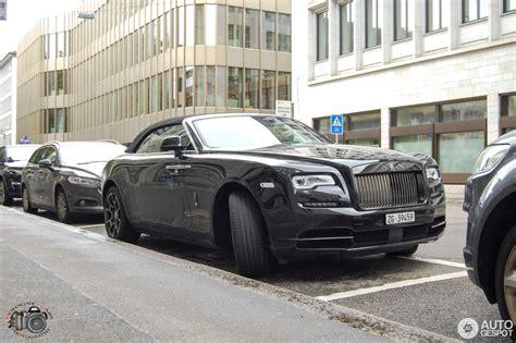 Rolls Royce Dawn Black Badge 5 September 2017 Autogespot