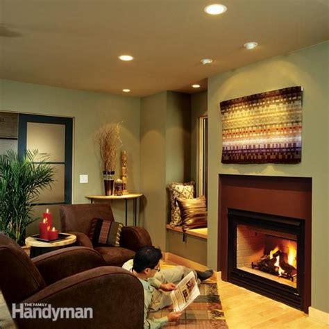 installing recessed lighting  dramatic effect family