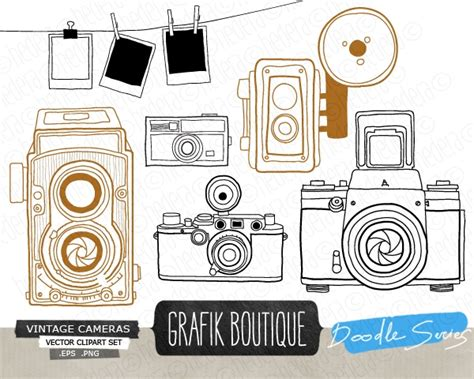 14347 photographer clipart vintage vintage vector clip graphics clip luvly