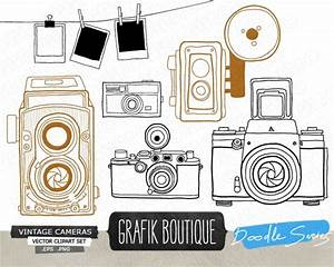 Vintage Camera Vector Clip Art - Graphics / Clip Art | Luvly