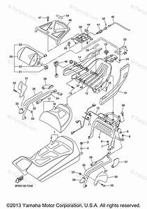 Yamaha Snowmobile 2014 Oem Parts Diagram For Seat