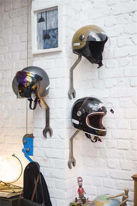 wrench helmet rack