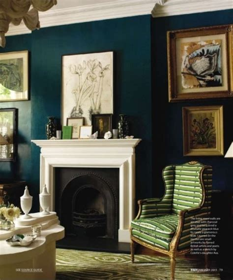 teal living room wall colors