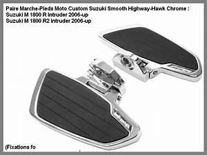 Marche Pied Moto Custom Highway Hawk Plateforme Marche