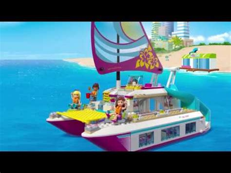 Lego Friends Sunshine Catamaran (41317) Youtube