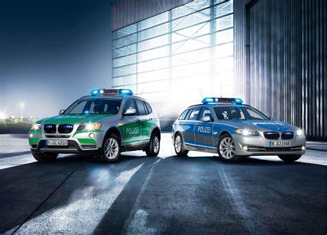 bmw unveiling  euro police cars  autoblog