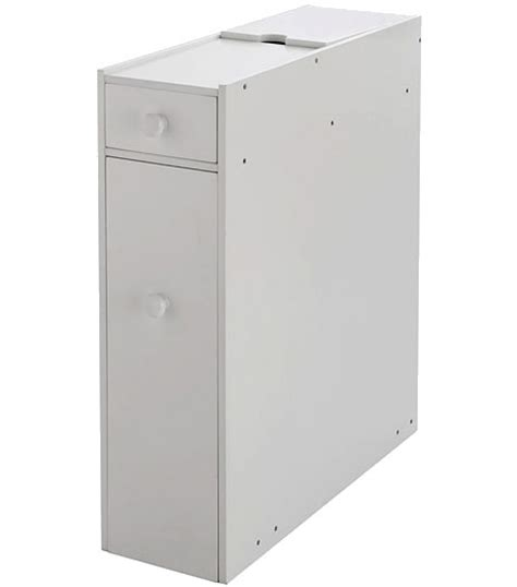 Toilet Roll Holder Cupboard by Compact Bathroom Storage Cupboard Cabinet Unit Rack White