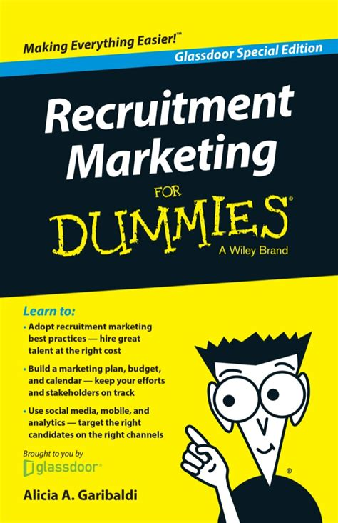 Marketing For Dummies by Recruitment Marketing For Dummies