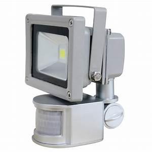 Projecteur Led Detecteur : projecteur led 12v dtecteur de mouvement projecteur de ~ Carolinahurricanesstore.com Idées de Décoration