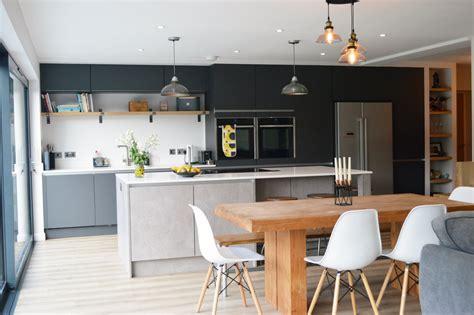 modern kitchen installation in