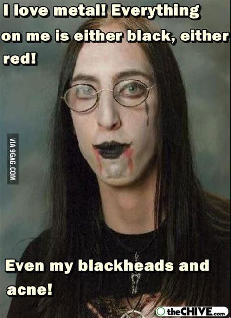 ugly metalhead girl gag