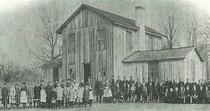 Union Church 1890   Old photos, Burlington, West virginia