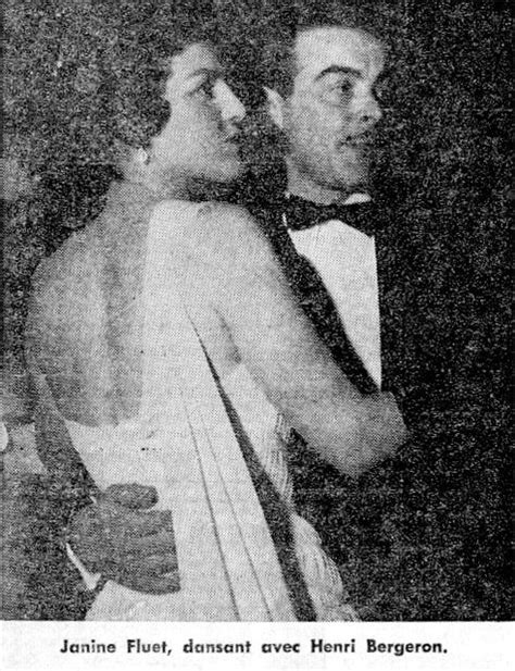 Janine V Janine Fluet Et Henri Bergeron