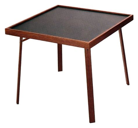 mainstays folding game table black mainstays 34 quot square fold in half table black walmart com