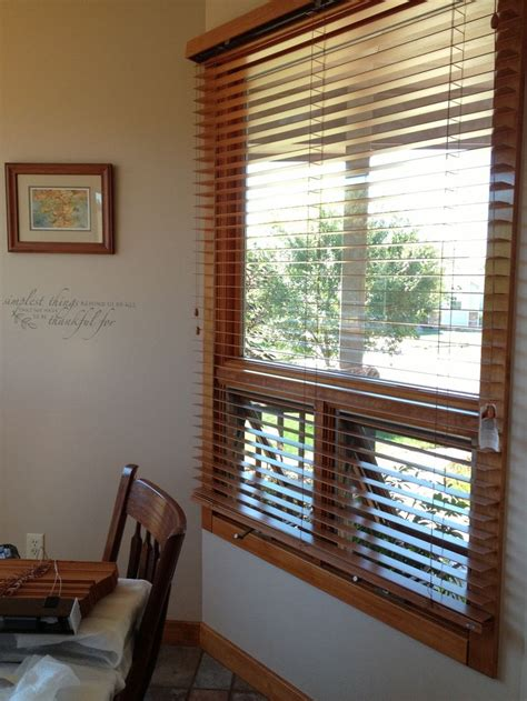 exterior mounting bali wood blinds   solution   existing anderson casement windows