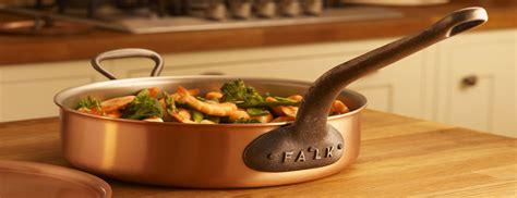 falk culinair falk copper cookware handcrafted  belgium