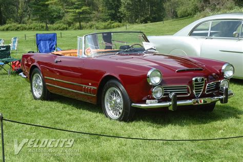 Alfa Romeo 1960 by 1960 Alfa Romeo 2600 Convertible Information