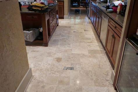 travertine floor cleaning houston travertine cleaning polishing and restoration before
