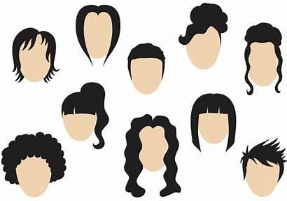 Hairstyle Cabello Vectors Hairstyles Peinado Clipart Vecteezy