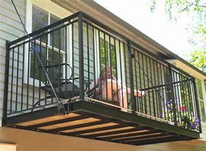 Poteau En Fer : terrasse suspendue sans poteaux ~ Edinachiropracticcenter.com Idées de Décoration