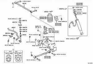 2007 Toyota 4runner Lateral Arm  Rear