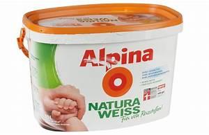 Alpina Wandfarbe Weiß : test innenfarben wand alpina farben natura wei ~ Articles-book.com Haus und Dekorationen