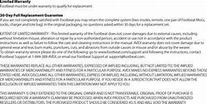 Avex 100e Footbeat User Manual Footbeat Ifu 5x5 Booklet W