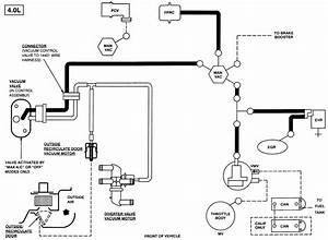 98 Ford Explorer V6 4x4 Vacuum System Diagrams