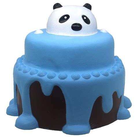squishy slow rising  jumbo squishies panda cake large