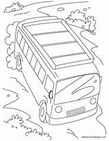 Coloring Pages Slope Bus Fast Moving Jungle Walking Sheets Bestcoloringpages Activities Safety Colouring 28kb 954px Comments sketch template