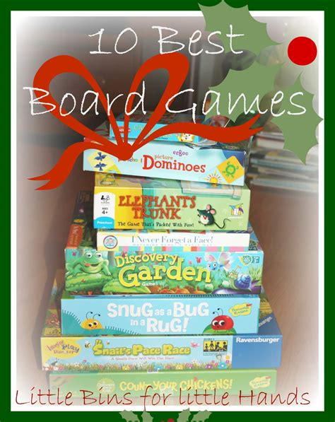 10 best preschool board top ten tuesday lists 626 | Top 10 Best Preschool Board Games