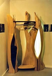 Garderobe Baumstamm Holz : design garderobe wandgarderobe holz ~ Sanjose-hotels-ca.com Haus und Dekorationen