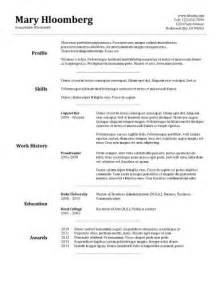 Traditional Resume Template by Traditional Resume Template 30 Basic Resume Templates