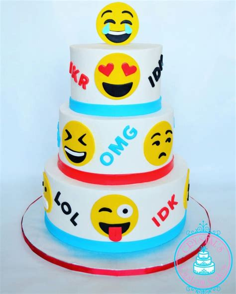 Best 25 ideas about Emoji Birthday Cake Ideas Find what youll love