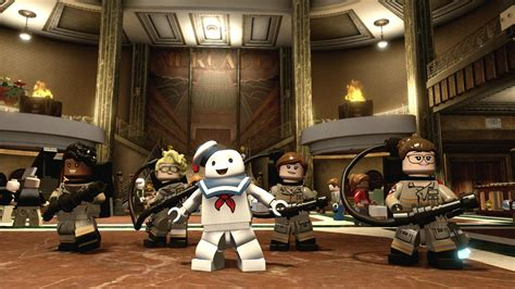 lego dimensions ghostbusters  level