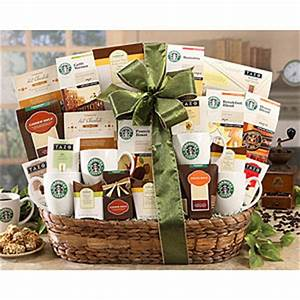 Send Starbucks Spectacular Gift Basket Exclusive Gift