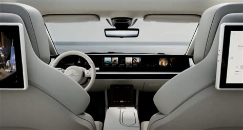 Sony Vision S Electric Car Concept Breaks Cover : Insights ...
