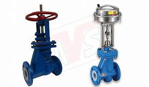 Lined Globe Valve For Pneumatic Control Application