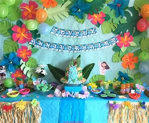 Décoration D Anniversaire : anniversaire vaiana d co sweet table et activit s ~ Dode.kayakingforconservation.com Idées de Décoration