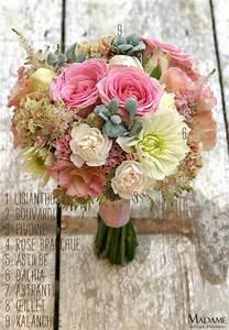 La Mariée Aux Pieds Nus : bouquet la mariee aux pieds nus rose madame artisan ~ Melissatoandfro.com Idées de Décoration